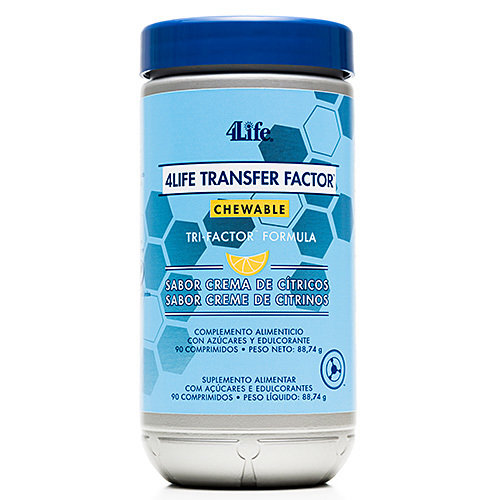 Transfer Factor Chewable - kauw tabletjes Image