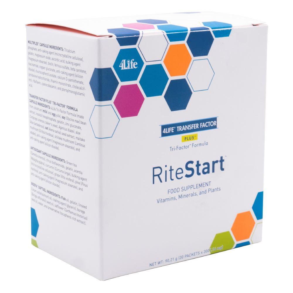 RiteStart M/V - 30 dagen kuur - 30 zakjes met 4 producten van 4Life Image